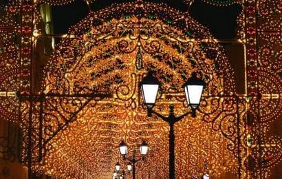 Dekoracja świąteczna w Moskiwe fot. pixabay