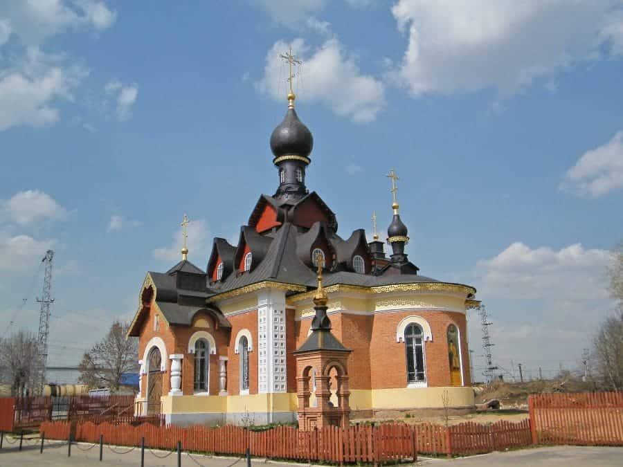 Cerkiew św. Serafina z Sarowa - Aleksandrow fot. wkimedia.org