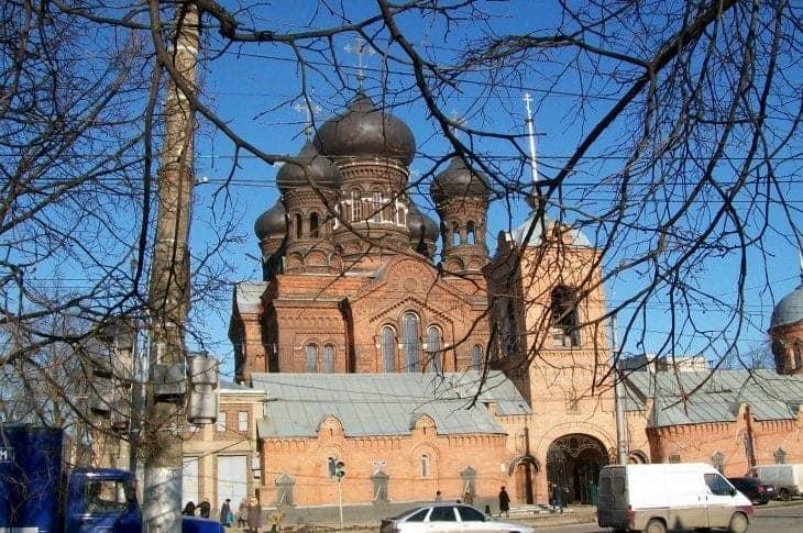 Monaster Wprowadzenia Matki Bożej do Świątyni fot. wikimedia.org