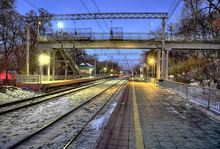 Stacja Kolejowa we Władywostoku fot. pixabay