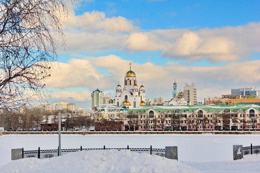 Cerkiew na Krwi, Jekaterynburg fot. pixabay