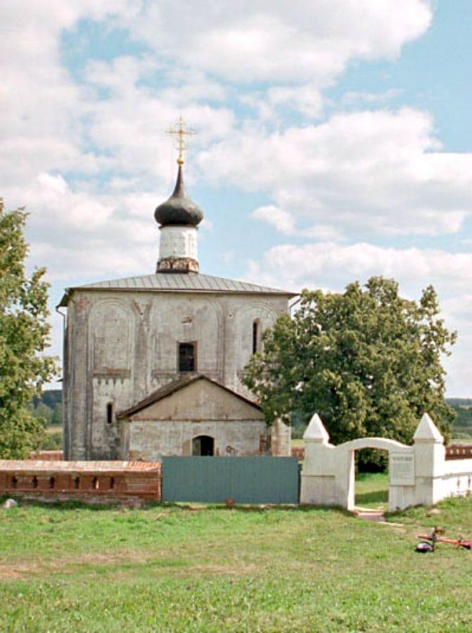 Cerkiew Borysa i Gleba w Kidiekszy fot. wikimedia.org