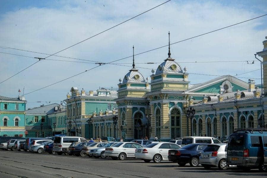 Dworzec kolejowy w Irkucku fot. pixabay