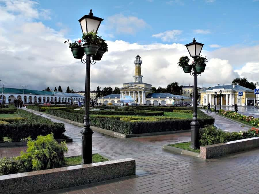 Główny plac miasta, Kostroma fot. pixabay