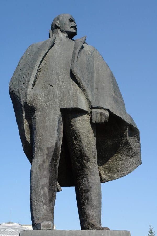 Pomnik Włodzimierza Lenina, Nowosybirsk fot. pixabay