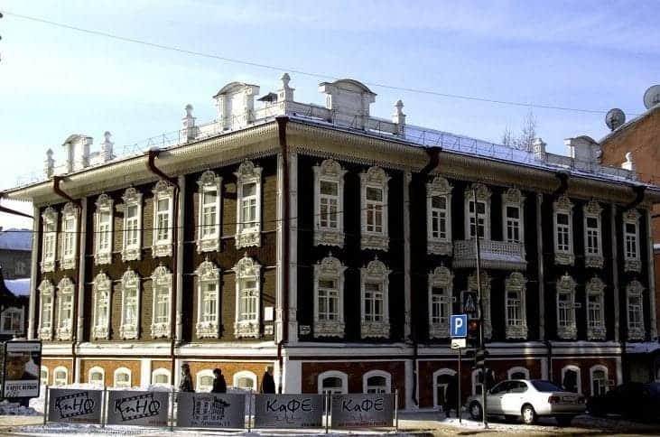 Zabytkowa Zabudowa, Nowosybirsk fot. pixabay