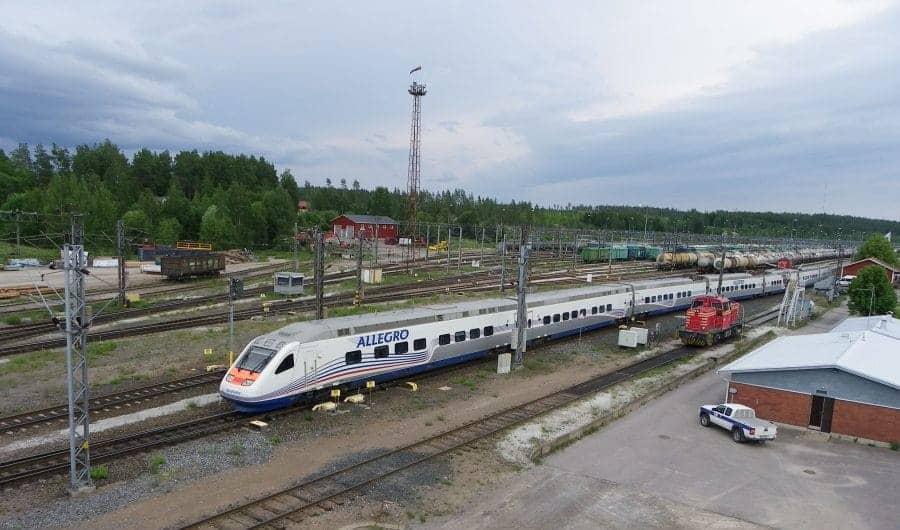 Pociąg typu Allegro fot. rzd.ru