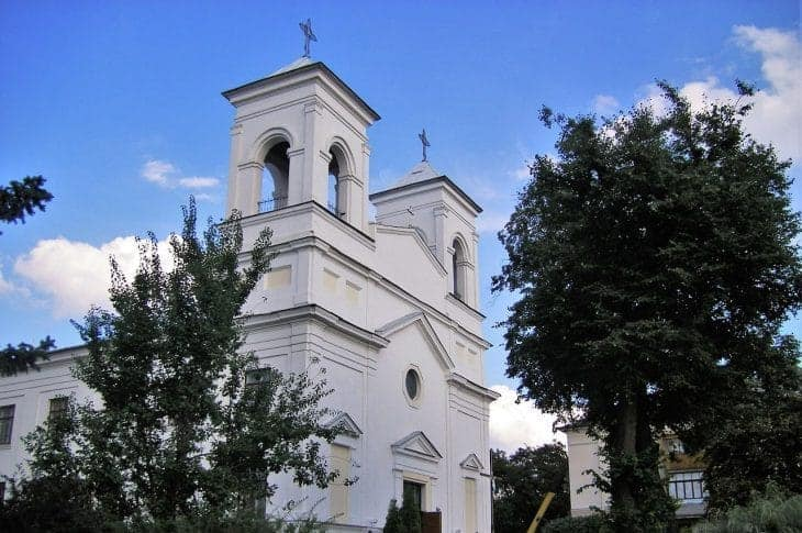 Kościół Podwyższenia Krzyża Świętego fot. wikimedia.org