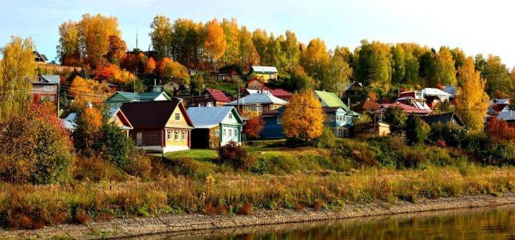 Malownicze widoki miasteczka Plos docenili nie tylko turyści, ale i rosyjscy malarze fot. pixabay