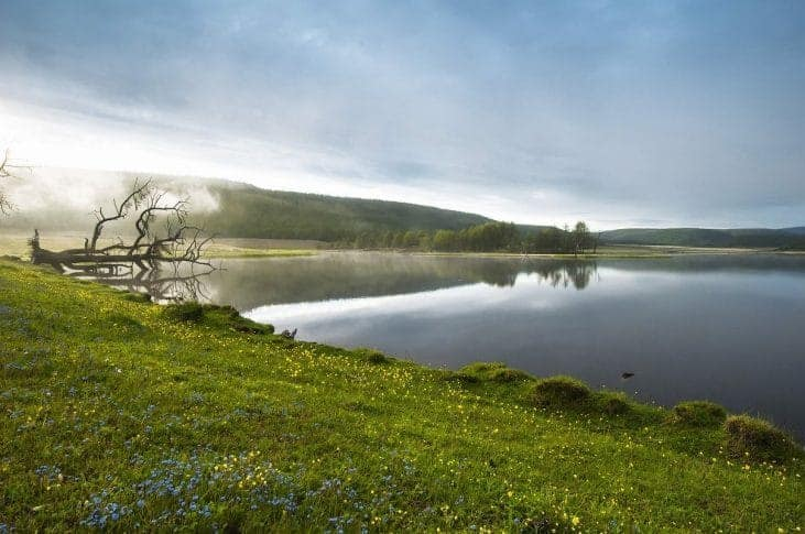 Chubsuguł to drugie największe jezioro w Mongolii fot. pixabay