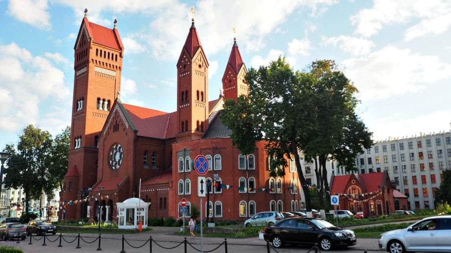 Kościół św. Szymona i Heleny fot. pixabay