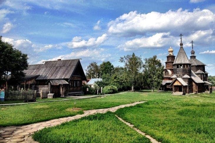 Żywy skansen w Suzdalu fot. pixabay