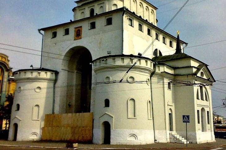 Złote Bramy były budowane tylko w najświętszych miastach starożytności, nie tylko w Jerozolimie, ale także we Włodzimierzu fot. wikimedia.org