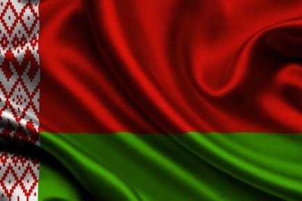 Flaga Białorusi - Wiza na Białoruś