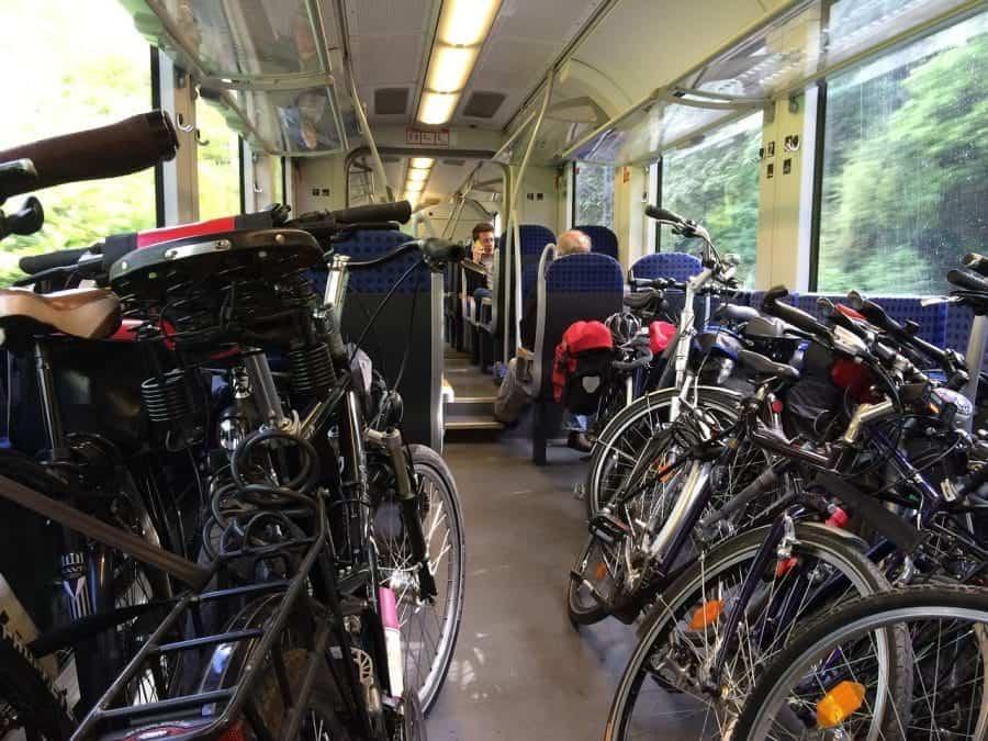 Do pociągu można również zabrać rower fot. pixabay