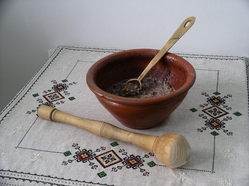 Kutja z ziaren pszenicy fot. wikimedia.org