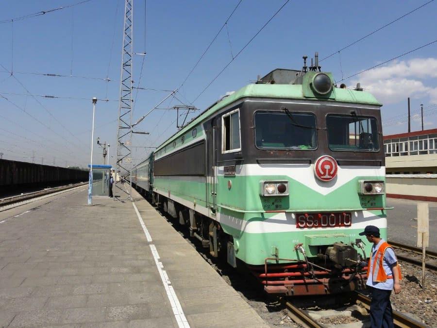 Pociąg w Chinach