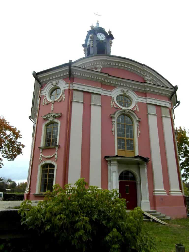 W Wołczynie zachowała się perełka barokowej architektury. fot. wikimapia.org