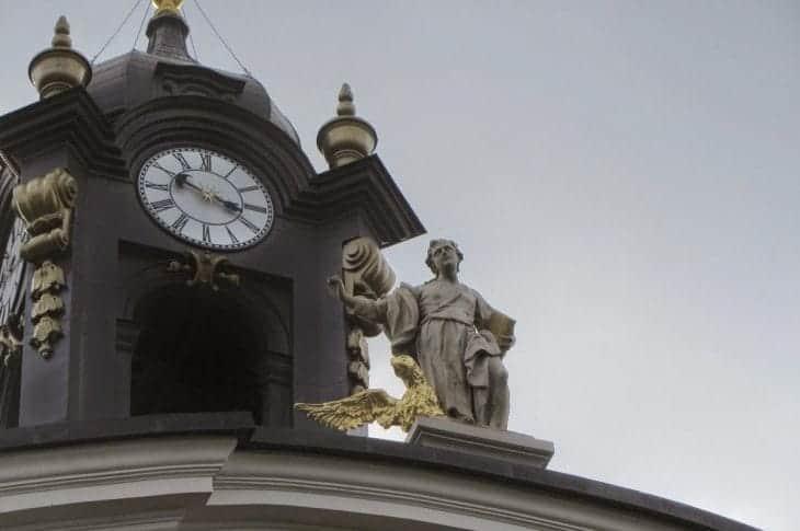 Wieża kościelna Wołczyn fot. wikimedia.org