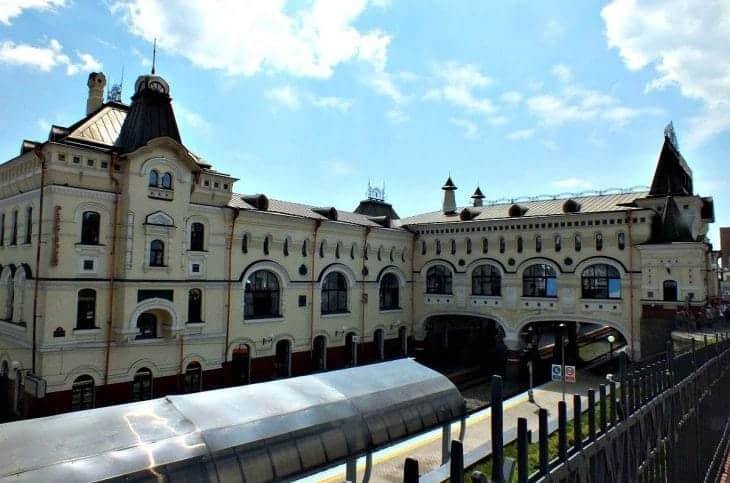 Dworzec kolejowy Władywostok fot. wikimedia.org