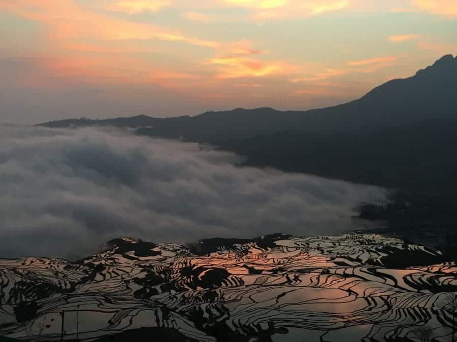 Yuanyang, tarasy ryżowe fot. pixabay