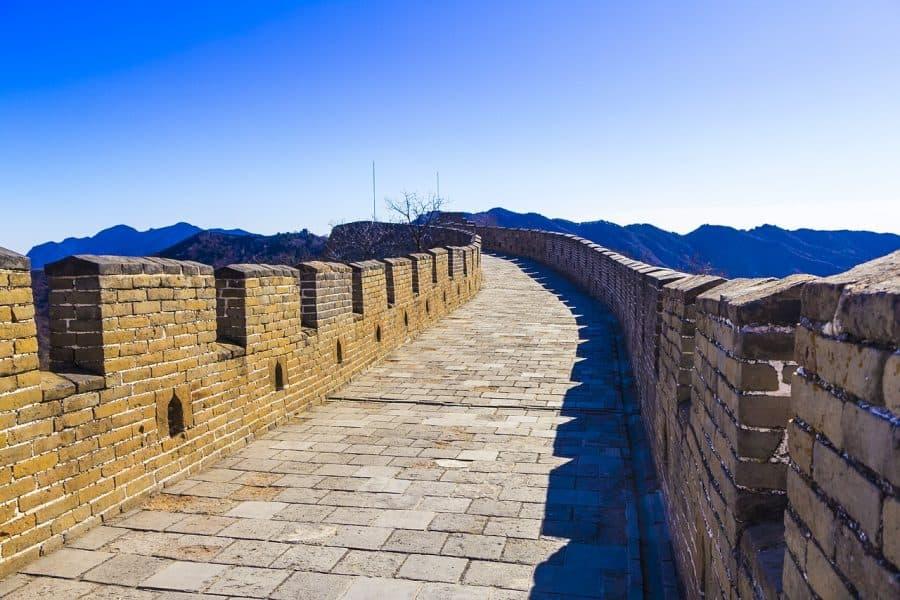Na Wielkim Murze Chińskim macie gwarancję, że Wasz pocałunek będzie widoczny z kosmosu.