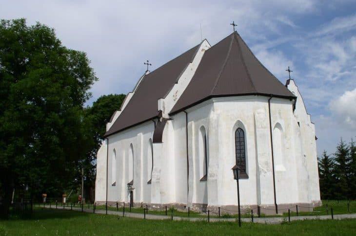 Iszkołdź– niewielka wieś i najstarsza świątynia Białorusi fot. wikipedia.org