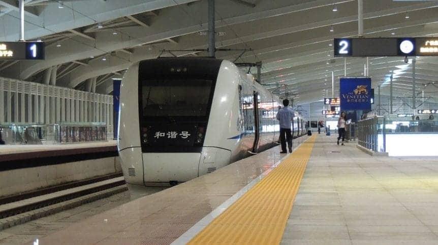 Koleje w Chinach