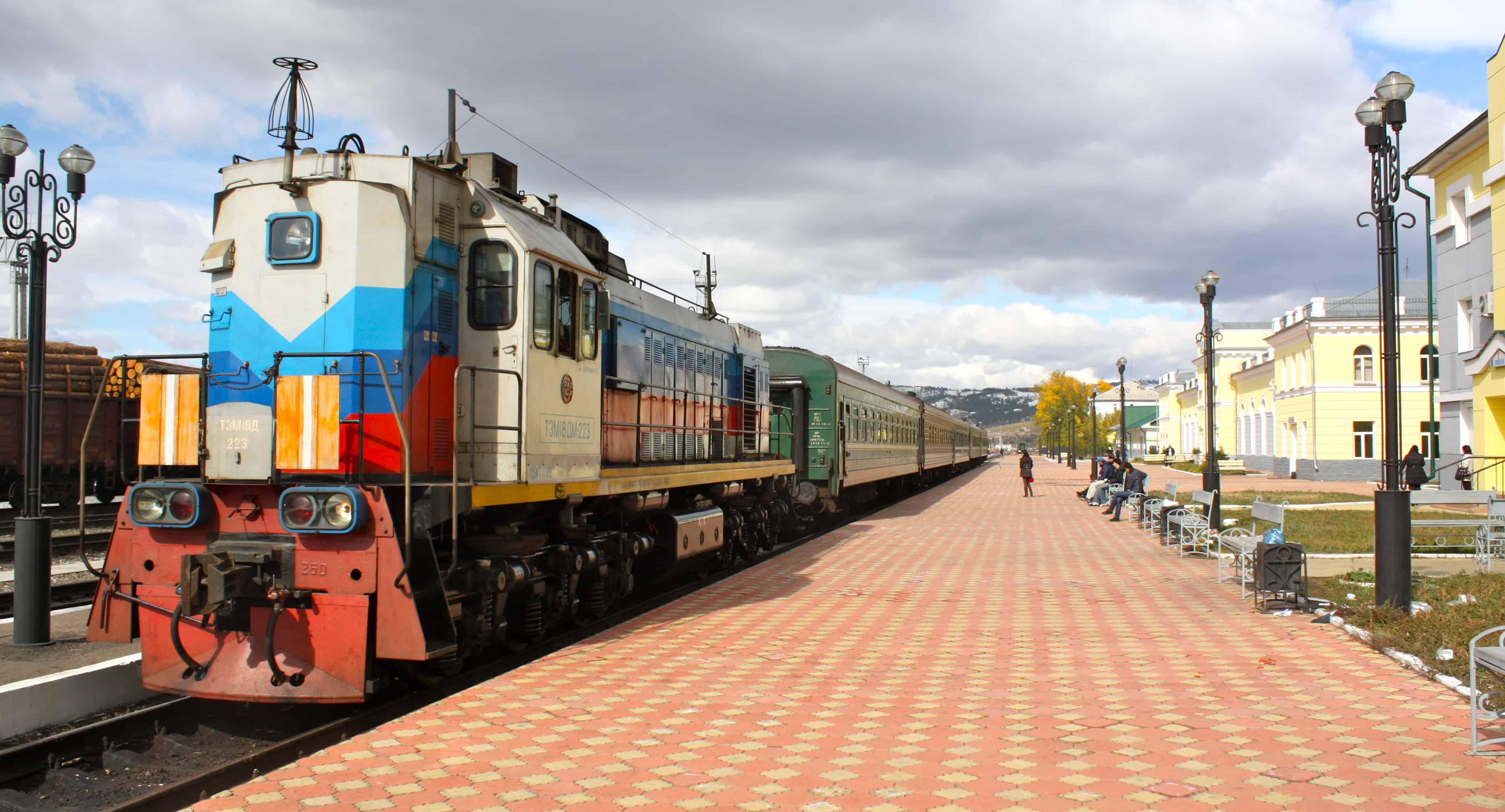 Podróż Koleją Transsyberyjską.