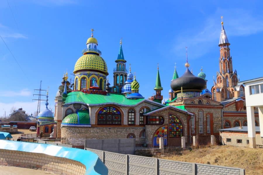 Świątynia Wszystkich Religii z zewnątrz